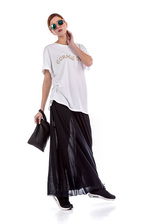 LONG FLOWY SKIRT