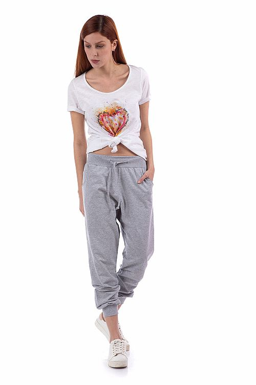 SWEAT PANTS LOOSE RISE